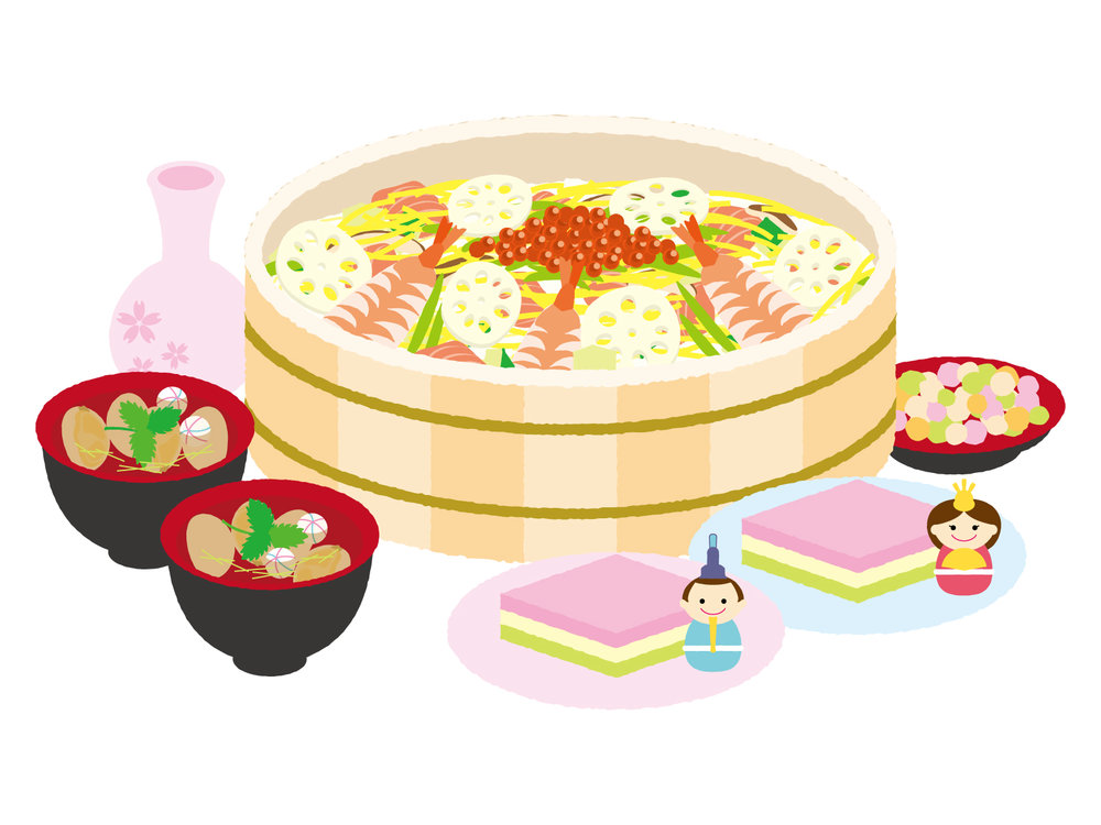 hinamatsuri-food
