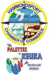 This project is also made possible, in part, with funds from the Hammondsport Chamber of Commerce, which raises money each year the The Palettes of Keuka, a summer long art event.   Click the logo above for more information
