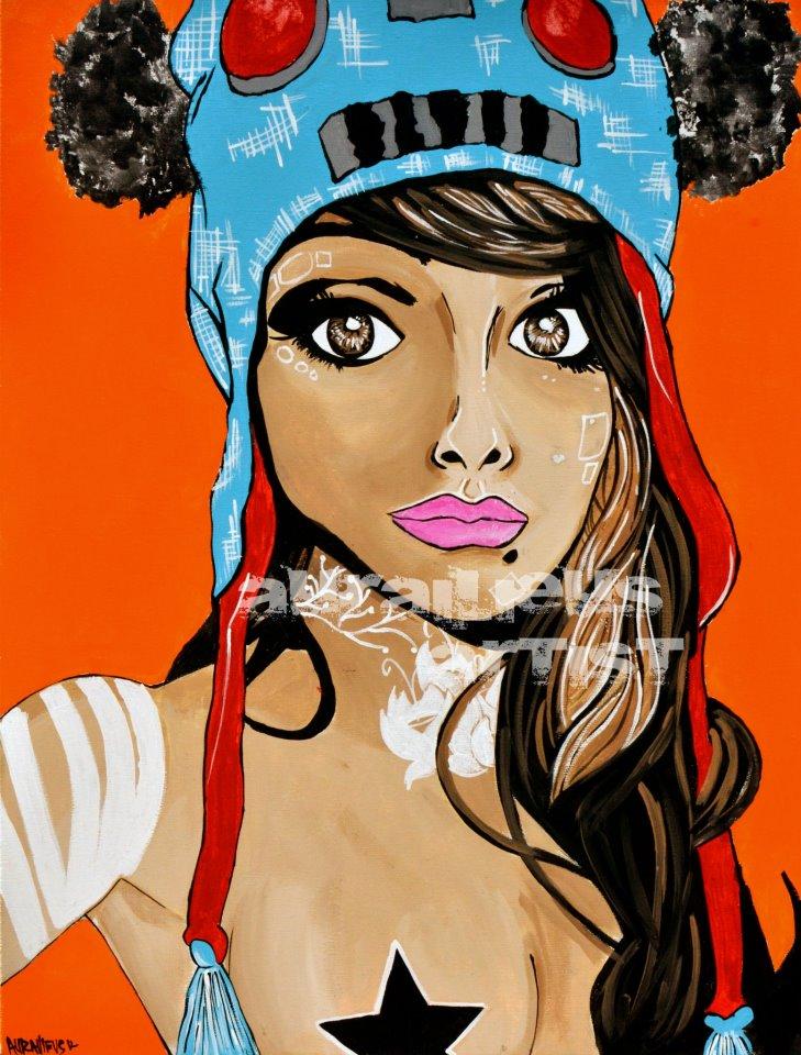 """""""Radeo""""  Mixed media  canvas"""