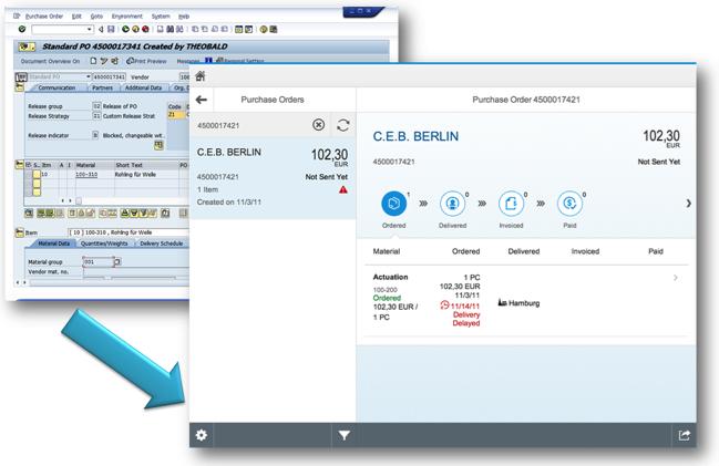 ERP-Track-Purchase-Order-SAP-Fiori-application
