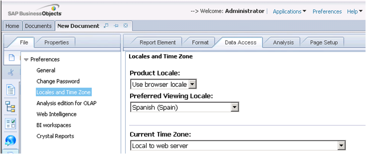 how to change preferred time zone yahoo