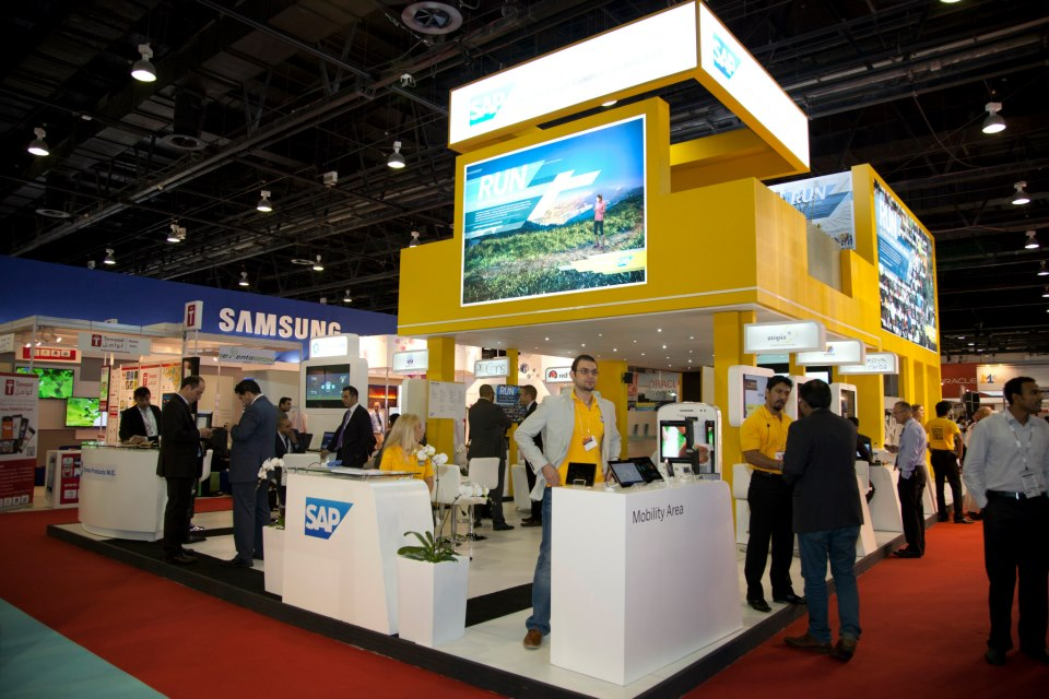Exhibition Stand Nigeria : Great results at gitex for clariba and partner exxova