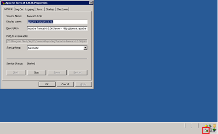 Tomcat Upgrade from version 5 to 6 in BOXI 3.x: close the ...