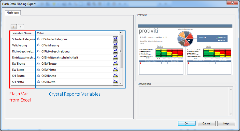 Flash Data Expert in Crystal Reports