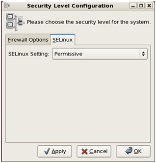 SE Linux functionality
