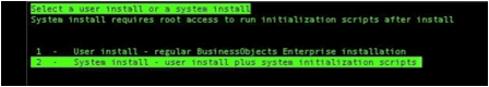 System Installation