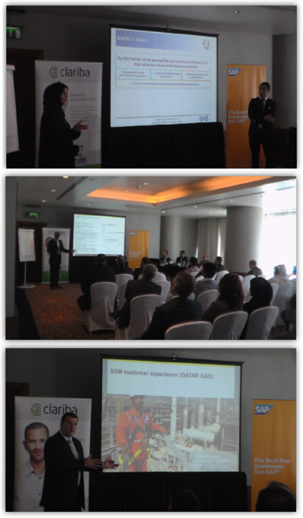 Clariba & SAP's SSM expert session