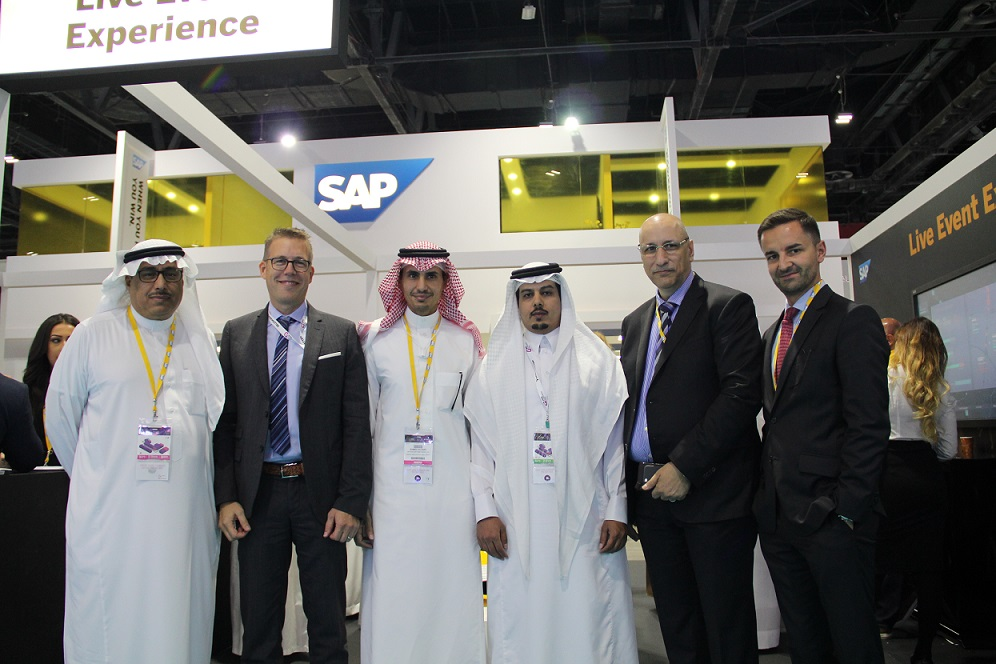 Present in picture (left to right): Abdollah Faadhel – Head of Ecosystem & Channel SAP Saudi Arabia Marc Haberland – Founder, Managing Director Clariba Ahmed Al-Faifi – Managing Director SAP Saudi Arabia Abdulgader Al-Harthi – General Manager Clariba Saudi Arabia Hossam Darra – Head of Industries Sales SAP Saudi Arabia Andy Froemel – Chief Operating Officer SAP Saudi Arabia