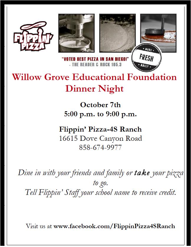 Flippin Pizza Dinner