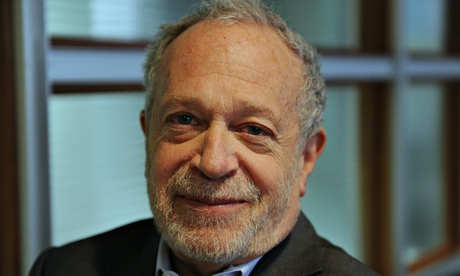 Robert Reich, President Clinton's Labour Secretary, professor and campaigner. Photograph: Jocelyn Augustino for the Guardian.