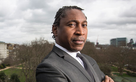 Human Rights barrister, Leslie Thomas. Photograph: David Levene for the Guardian.