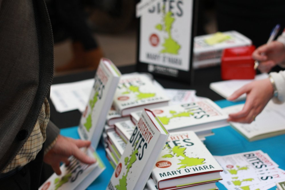 Austerity Bites Book Launch