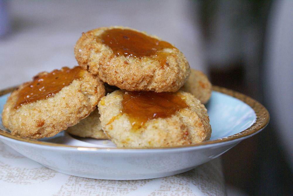 biscuits sans gluten abricots