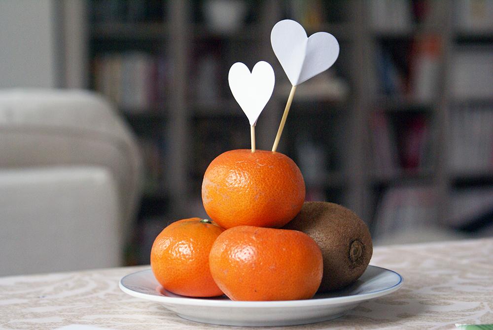 mandarines sans gluten