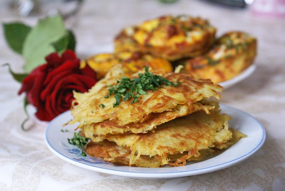 galettes de pommes de terre sans gluten