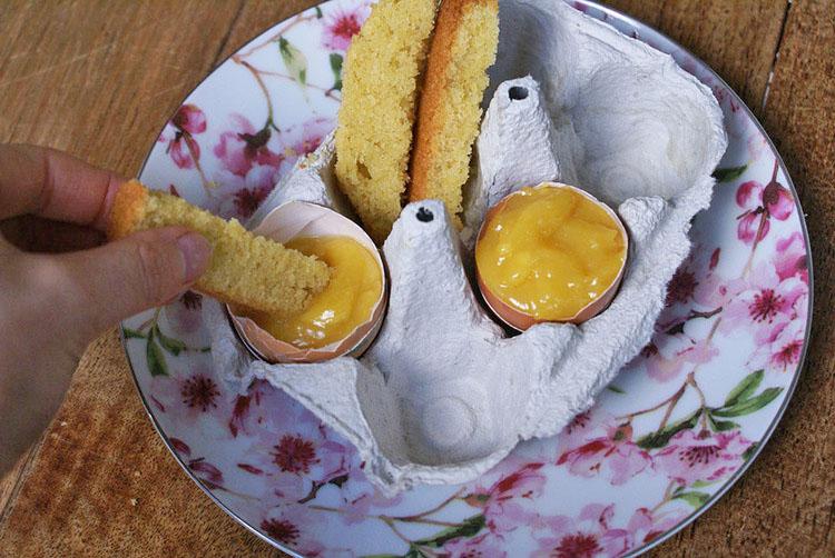 lemon curd sans lait sans gluten
