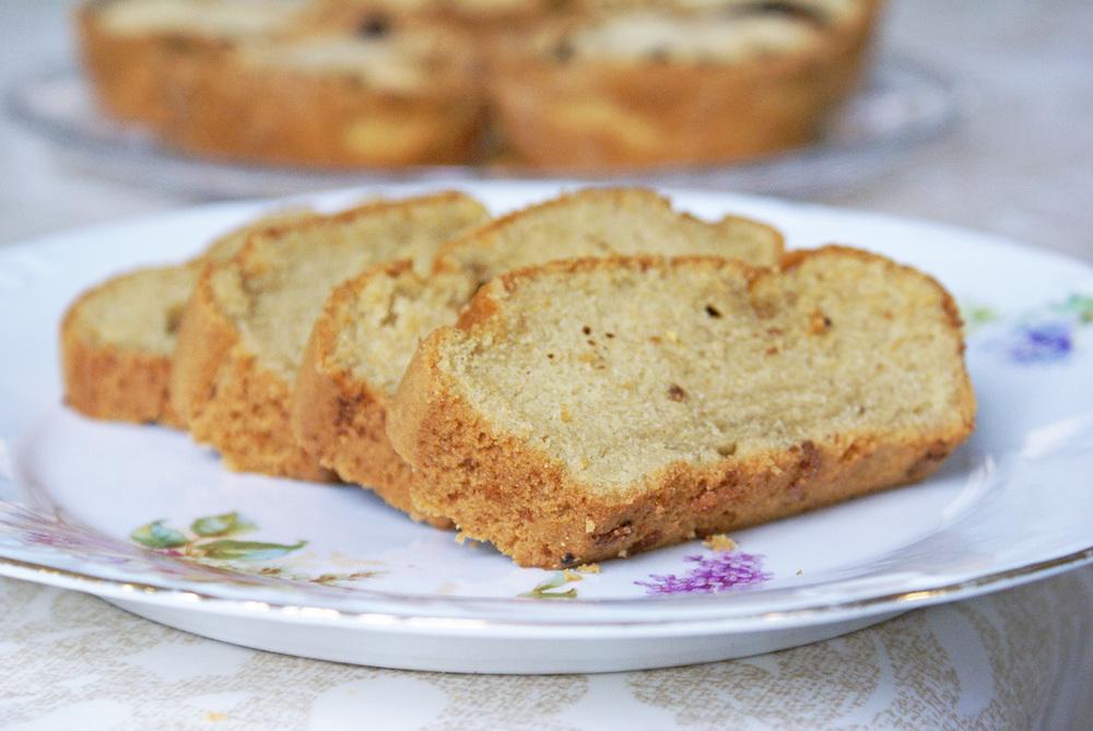 cake cacahuètes sans gluten sans lactose