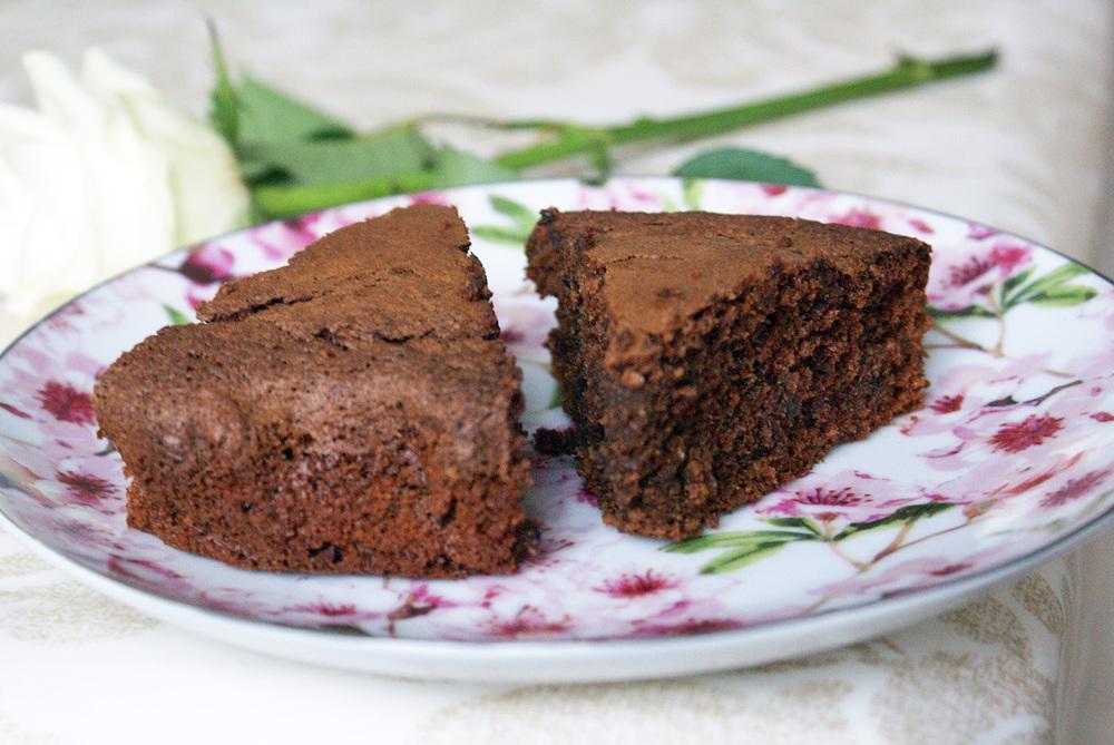 gateau chocolat chataigne betterave sans gluten