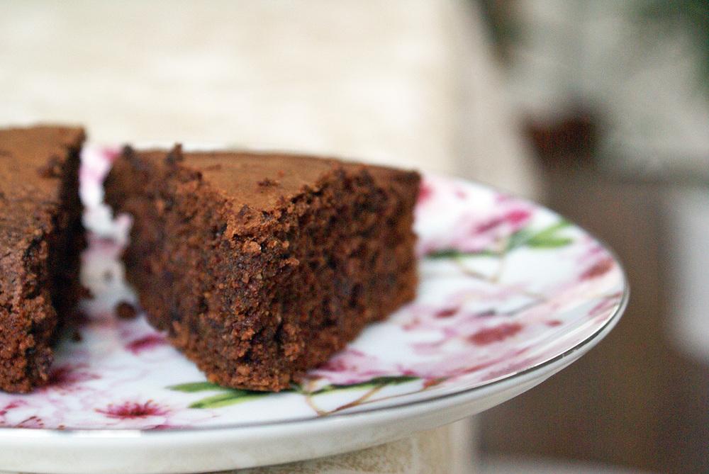 gateau sans gluten sans lactose au chocolat