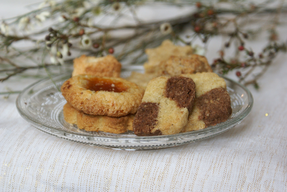 biscuits damier de noel sans gluten sans lactose