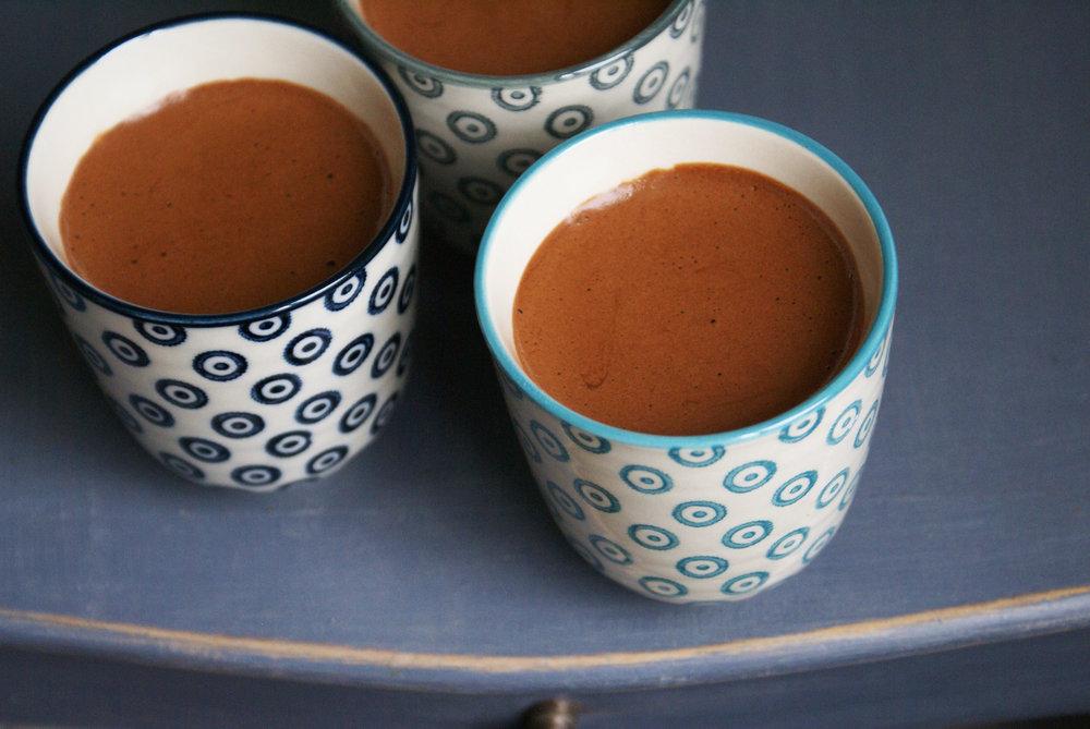 mousse au chocolat sans lactose