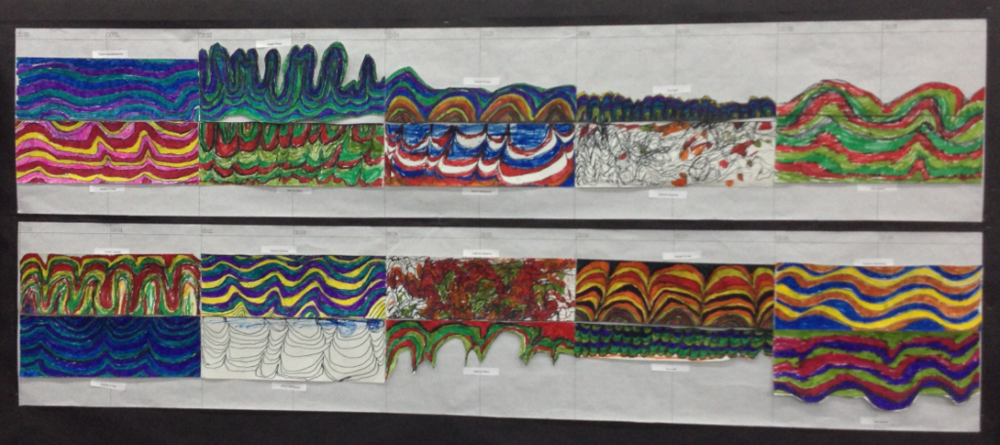 Adventures in Art Age Seven - Sound Wave Illustrations