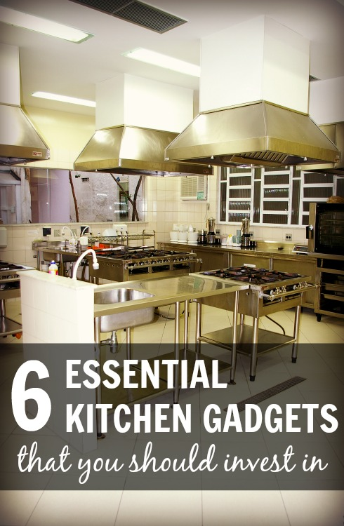 6 Essential Kitchen Gadgets that You Should Invest In — Morsels ...