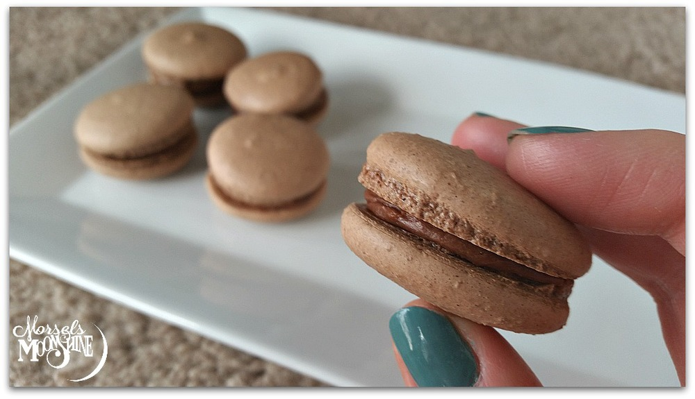 Vegan macarons chocolate amaretto morsels moonshine blanched almond flour its expensive but ready to go alternately you can buy blanched sliced almonds and grind them yourself urmus Image collections