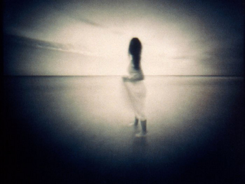 HORIZON  , from the  Figurative  series; cyanotype over platinum/palladium, pinhole.  Limited Edition 2/10.