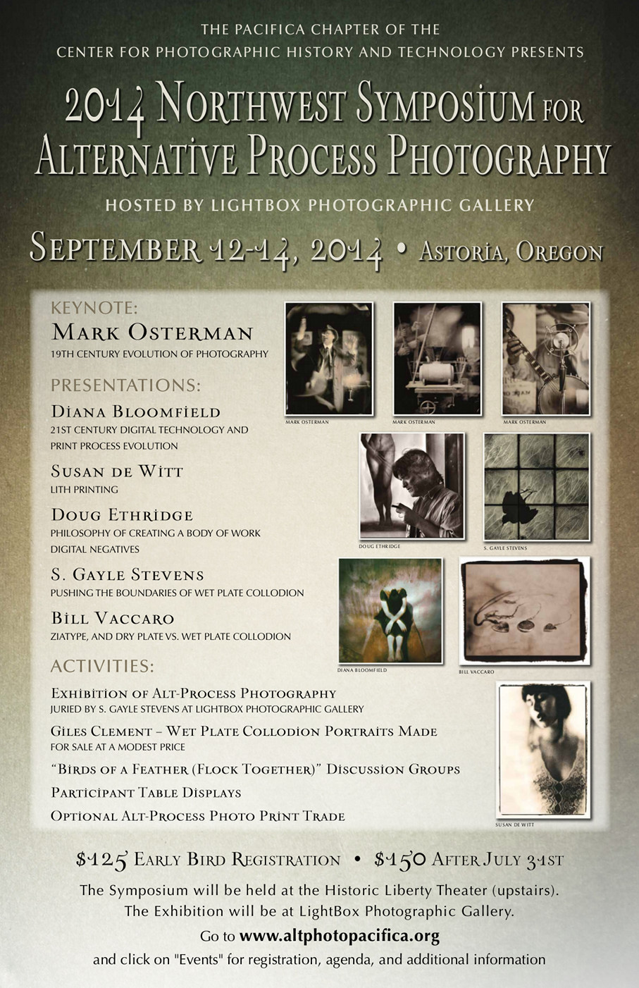Symposium Poster, from ©Lightbox-Photographic