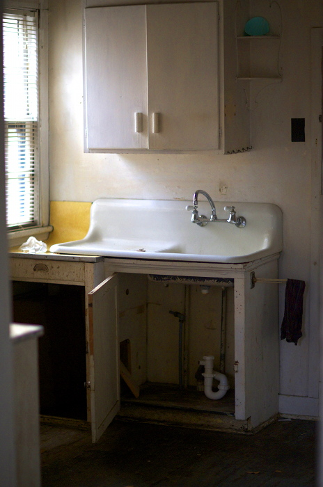 Kitchen  , from the  Interiors  series.  Pigment print.