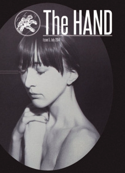 The Hand Magazine, July issue; cover art above by © Danielle Ezzo