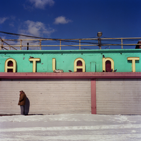 Atlantic  , from the  Tickets to Dreamland  series.  20x20 chromogenic print.  Limited edition 2/10.