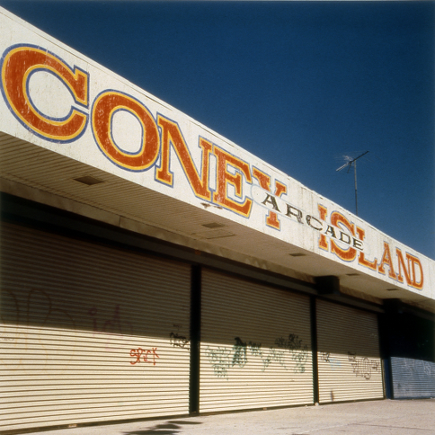 Coney Island Arcade,   from the  Tickets to Dreamland  series.  20x20 Chromogenic print.  Limited Edition 2/10.