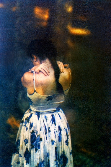 In the Forest,   from the  Figurative  series. Limited Edition 1/10. Tri-color gum bichromate