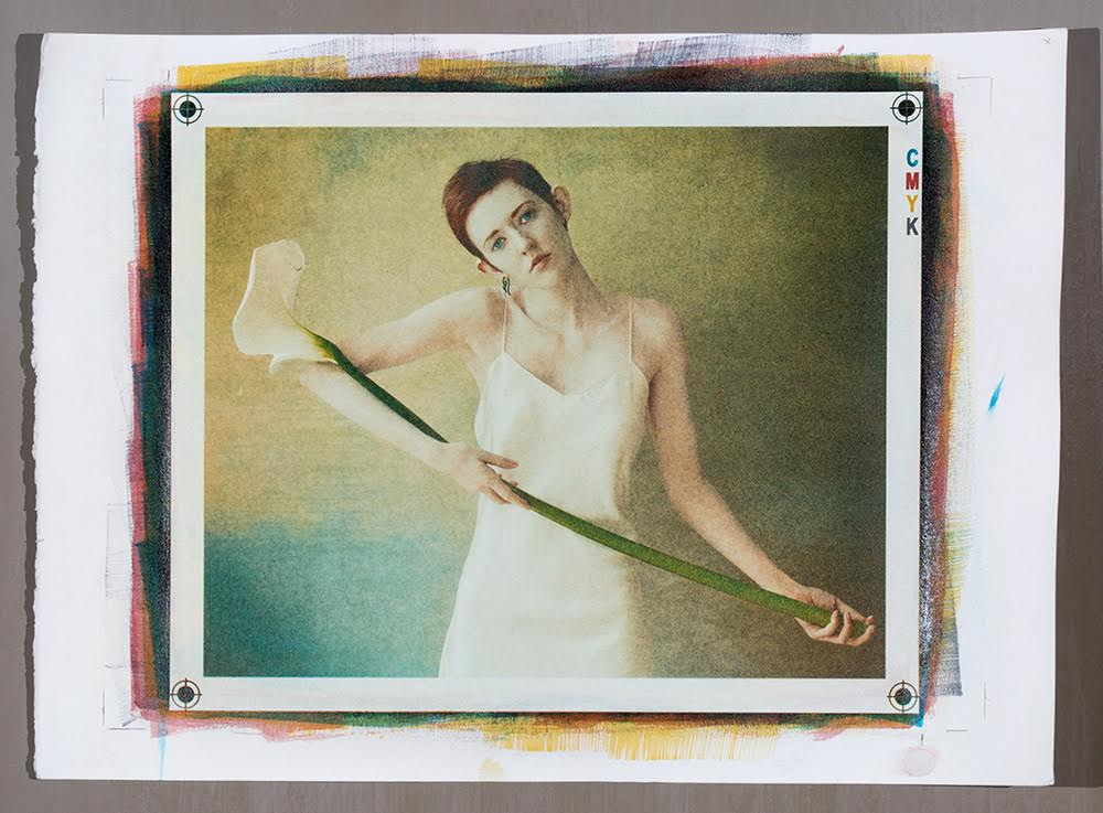 ©Michael Puff, 2015  Tri-color gum print