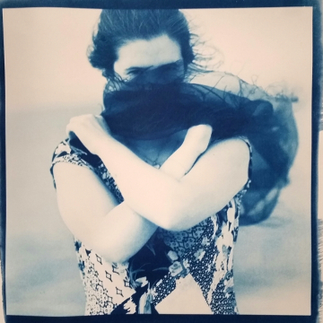 Veiled Woman  (cyanotype) ©DH Bloomfield 2016