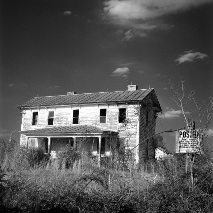 Private Property  (2005/2016), from the  Southland  series.  Limited Edition 1/5; Pigment print