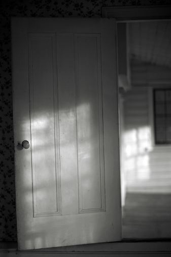 Shadowed Door, Crabtree Jones House,  from the  Southland  &  Crabtree Jones House  series. Limited Edition 2/5.  Pigment Print.