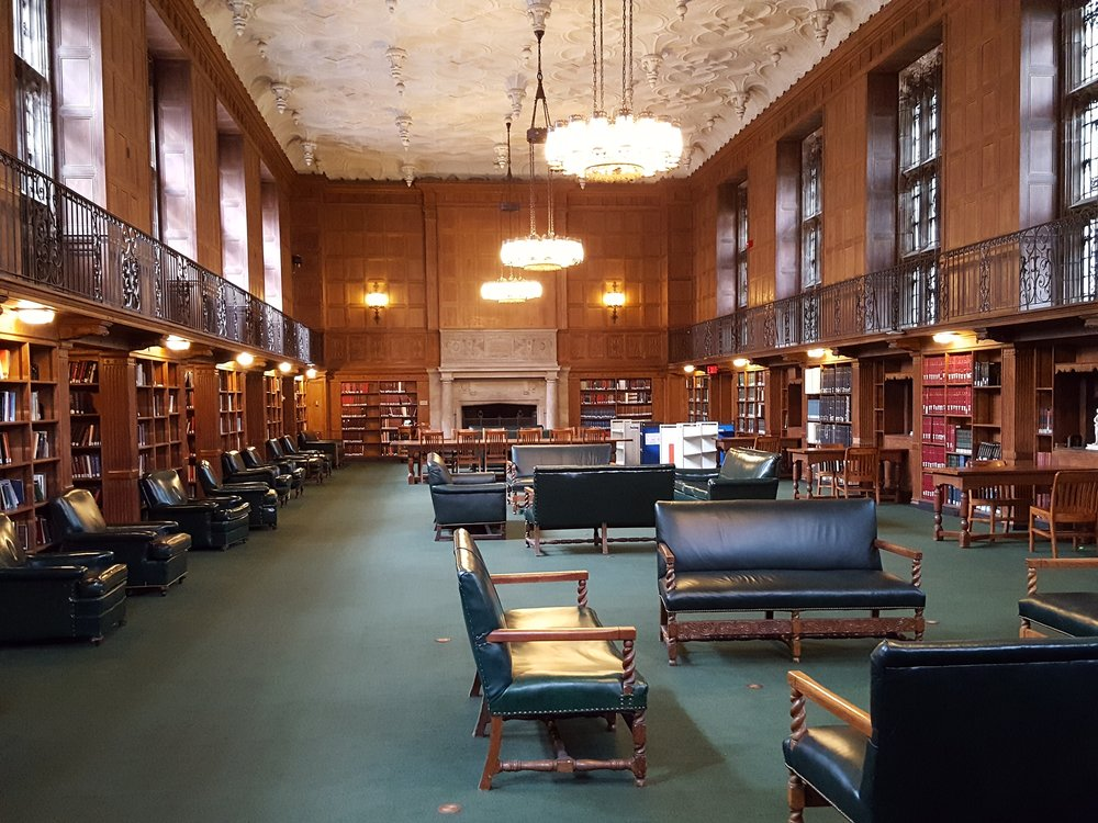 Linonia and Brothers Reading Room