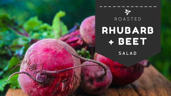 Rhubarb And Beet Salad Recipe