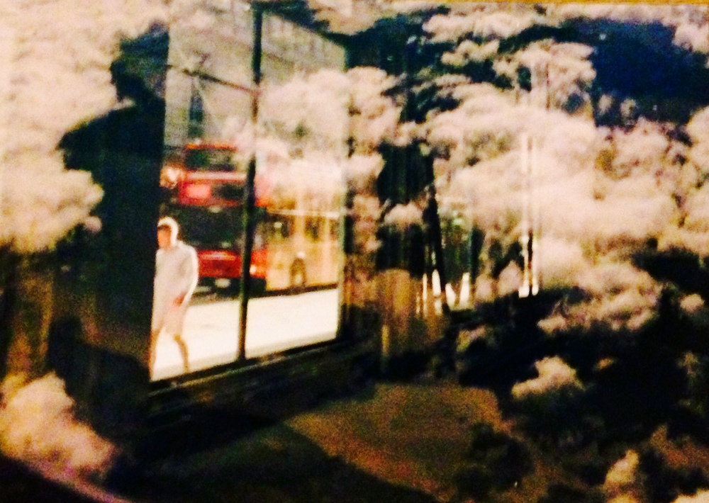 Double Exposure Series , Moving from the UK - USA , 2011