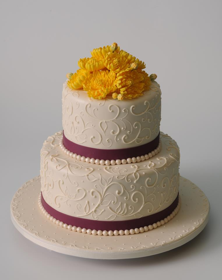 Intimate Wedding Cake