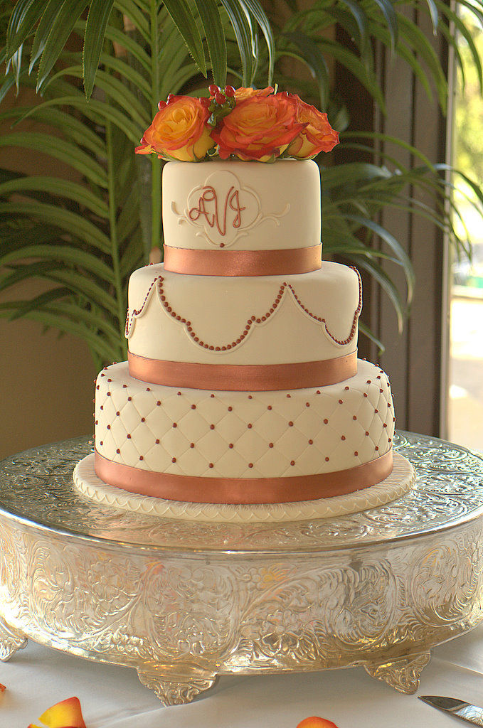 Classic Round Wedding Cake