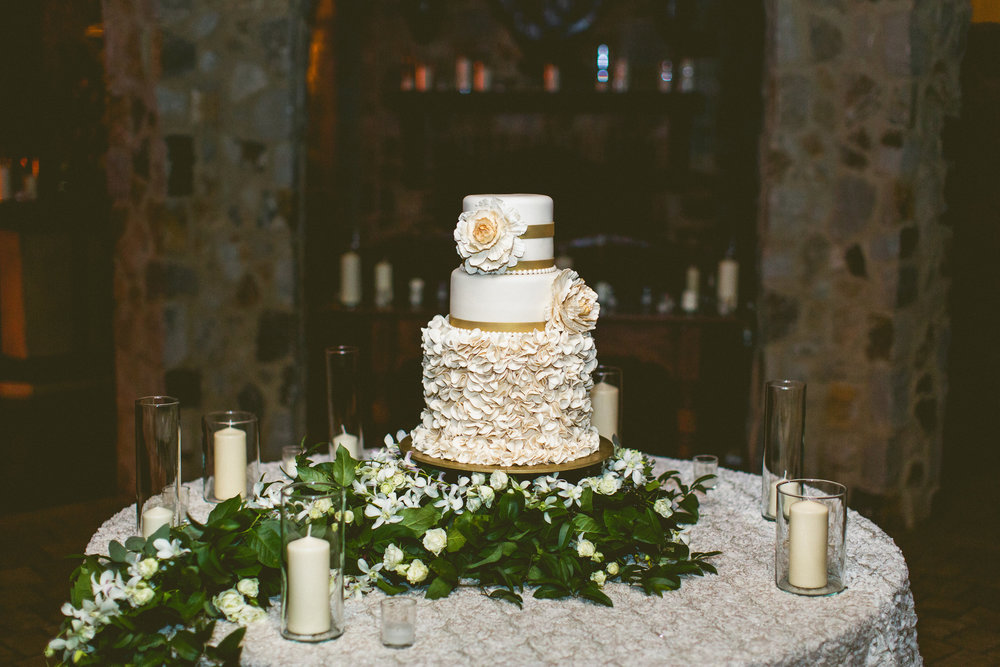 Bella Collina Wedding Cake