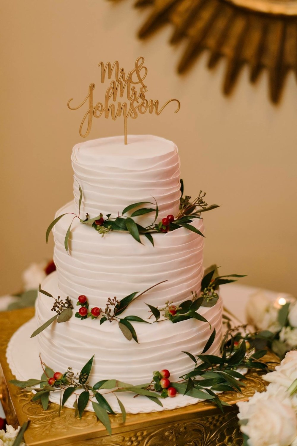 Wedding Cake Swirls