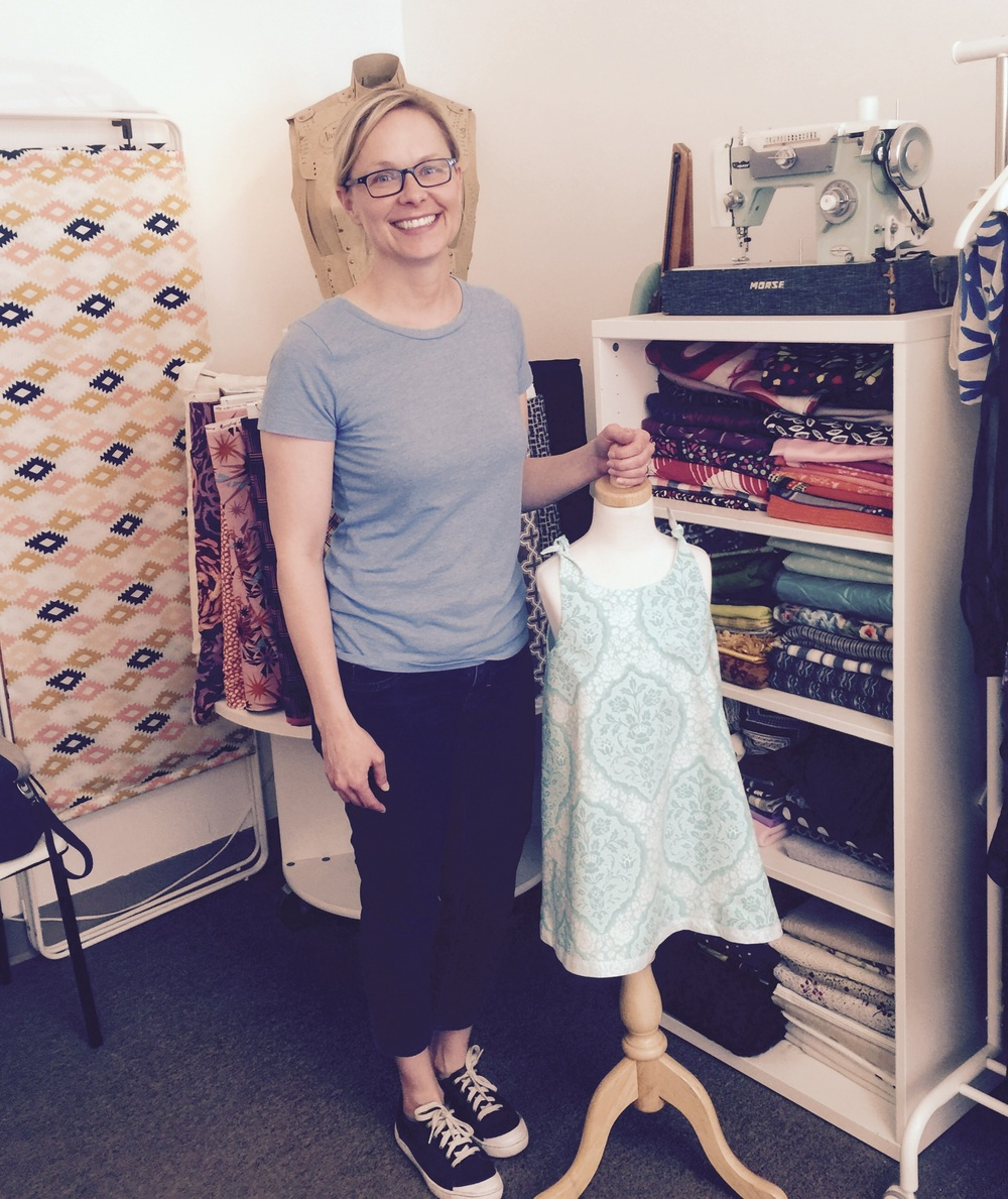 Sweet Gail is making sweet summer dresses for little girls
