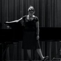 Rehearsing for Graduate recital