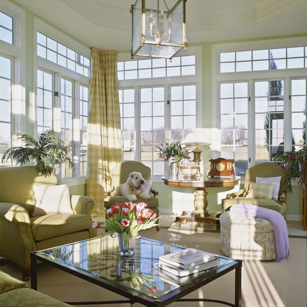 Elegant Sun Room in Maryland