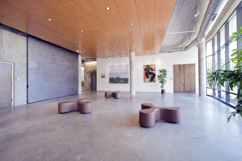 MICA's Leake Hall lobby